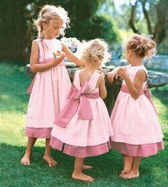 vestidos para niños de arras