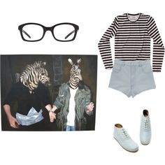 zebrahead, created by daneamila on Polyvore