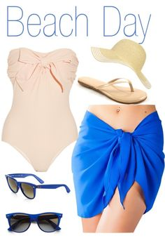 """Beach Day"" by rylenlemons on Polyvore"