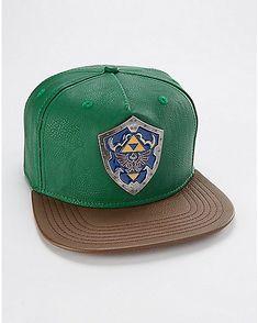 c222fa1d10f Zelda Snapback Hat - Spencer s Snapback Hats