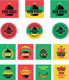 Boom Burger, a Jamaican-infused burger joint in London - local firm Yawn Creative | LOVE!
