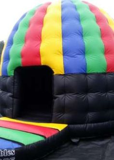 Disco Dome Party Pod Bouncy Castle - Bouncy Castles - Bouncy Castle Hire in Colchester, Clacton, Harwich Ipswich, Essex & Suffolk