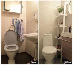 Muotopuoli: pieni vessaprojekti Toilet, Bathroom, Washroom, Flush Toilet, Full Bath, Toilets, Bath, Bathrooms, Toilet Room