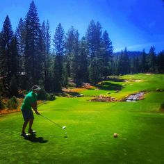 @tapblock... Trying to adjust to the horrible climate and scenery that Tahoe offers. #sundayfunday #tahoegolf