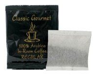 Classic Gourmet Regular 4 Cup Coffee Filterpack for Hotels and Motels Case of 200 -- Click image to review more details.