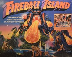 Visit Don's Game Closet for 1986 Fireball Island game by Milton Bradley. We have of vintage board games and rules. Board Game Box, Fun Board Games, Board Game Geek, Games Box, Card Games, Classic Board Games, Vintage Board Games, My Childhood Memories, Childhood Toys
