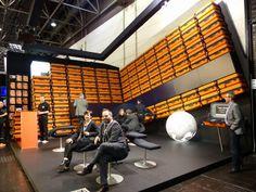 La Fédération des Métiers de l'#Exposition et de l'#Evénement (FFM2E) visite le #salon #Euroshop 2014