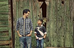 like father, like son // families, getzcreative photography  I like the hands in the pockets