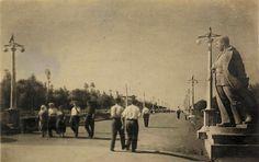 1939. Памятник Сталину в Сталино (Юзовка, Донецк)
