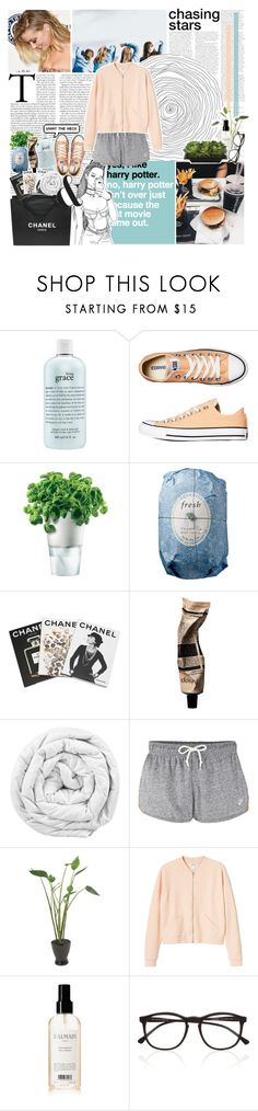 """-i wanna save that light-"" by nsrogsy3 ❤ liked on Polyvore featuring Chanel, philosophy, Converse, Eva Solo, Fresh, Assouline Publishing, Aromatique, Brinkhaus, NIKE and Distinctive Designs"