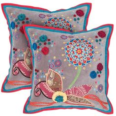 I pinned this Olivia Pillow from the Bohemian Boudoir event at Joss and Main!