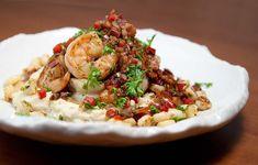 Shrimp n' Grits / @DJ Foodie / DJFoodie.com