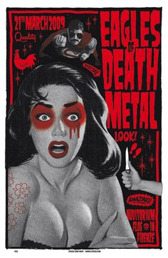 GigPosters.com - Eagles Of Death Metal