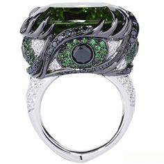 ENVY: From a collection called The 7 Deadly Rings designed to represent each of the 7 deadly sins.