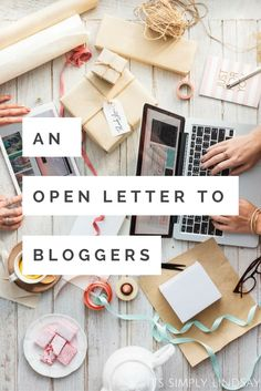An open letter to bloggers everywhere; It's Simply Lindsay shines some light on the social media algorithm changes and what that means for you.
