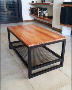 Steel Furniture, Ikea Furniture, Industrial Furniture, Furniture Design, Home Decor Bedroom, Diy Home Decor, Industrial Kitchen Design, Woodworking Furniture Plans, Projects