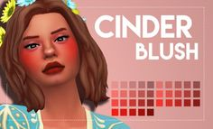Simsworkshop: Cinder Blush 2.0 by Weepingsimmer • Sims 4 Downloads
