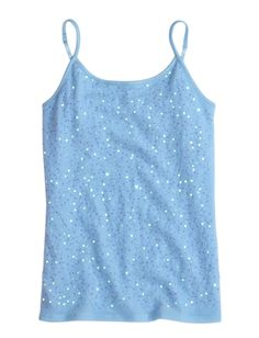 Allover Embellished Cami | Camis | Clothes | Shop Justice