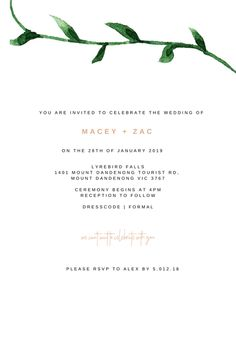 Invitations starting from just $3.50! Bespoke Design, You Are Invited, Rsvp, First Love, Reception, Ivory, Invitations, Celebrities, Wedding