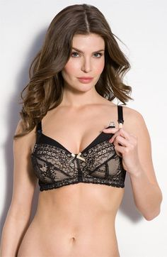 i want this!!! It's so hard to find a pretty nursing bra that doesn't look like a bra for a 60 year old!