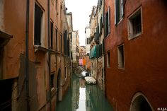 Venice colorful canal beautiful old architecture with washing lines and turquoise water peaceful 10 x 15 Fine Art Signed Photograph Print By LJAPhotography, $30.00 Classic and peaceful , a little glimpse into the secret lives down the back street canals in Italy.