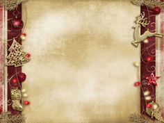 Christmas Peace Decoration PPT Backgrounds