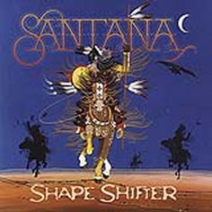 album cover art: santana - shape shifter [2012]