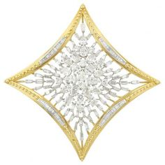 Gold, Platinum and Diamond Pendant Clip-Brooch, David Webb for Sale at Auction on Wed, 04/22/2015 - 07:00 - Important Jewelry | Doyle Auction House