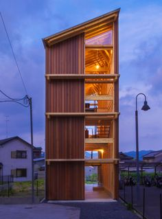 Japanese environmental organization completed work on a tall, narrow home designed to showcase a collection of pottery. Contemporary Ceramic Art + Design
