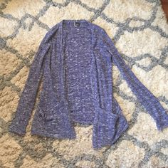Blue Cardigan from Urban Outfitters Cardigan from urban outfitters. Worn multiple times but in perfect condition! Brand is Sparkle & Fade Urban Outfitters Sweaters Cardigans