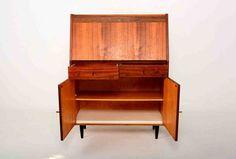 Mid Century Secretary Desk