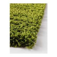 "HAMPEN Rug, high pile - 4 ' 4 ""x6 ' 5 "" - IKEA laura's green grass rug.  Put 2 together for a cheapie big rug!"