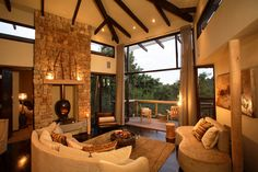 Tsala Treetop Lodge in South Africa is perfect for a safari getaway!