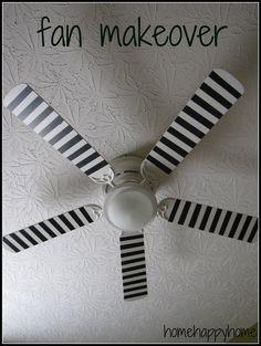 Decoración dormitorio: renovar el ventilador de techo