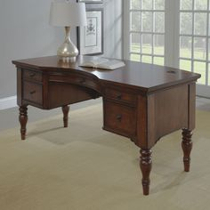 Hon 10500 Bow Front Double Pedestal Desk Full Height Pedestals 72w X 36d Harvest Beige And Products