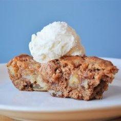 Skillet Apple Brownie - Allrecipes.com