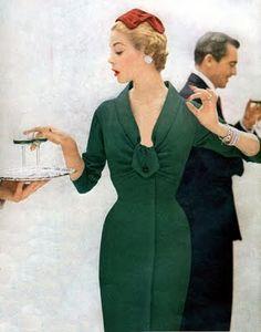 So glamorous!                                                            1950s Fashion Model: Jean Patchett | The Glamorous Housewife