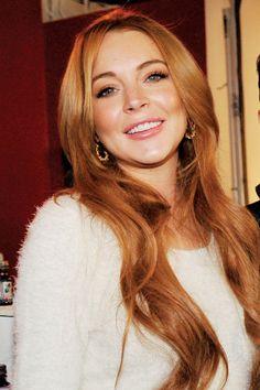 Lindsay Lohan is returning to fashion