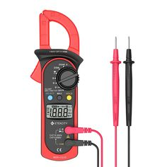Etekcity MSR-C600 Digital Clamp Meter Multimeters, Auto-Ranging Multimeter AC/DC voltmeter with Voltage, AC Current, Amp, Volt, Ohm, Diode and Resistance Test Tester: Amazon.com: Industrial & Scientific