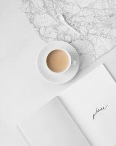 minimalist, book, and coffee image