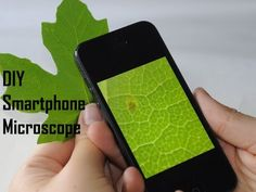 How To Make Simple Smartphone Microscope ( 40x - 170x) & (DIY) - YouTube