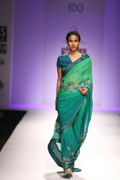 """Wills Lifestyle India Fashion Week AW '13"" Day 3 by Sonia Jetleey #Fashion #WillsLifestyle"