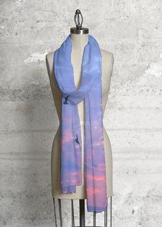 Cashmere Silk Scarf - Lavender Hill by VIDA VIDA iRkOFM64On