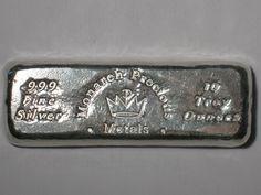 Monarch Precious Metals 10 oz silver bar
