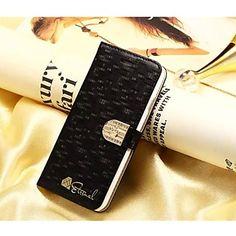 iPhone 6 - Hoesje met standaard/Volledig hoesje/Portefeuillehoesje - Effen kleur/Speciaal ontwerp ( Rood/Zwart/Wit , PU-leer ) – EUR € 19.99