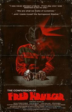 The Confession of Fred Krueger poster