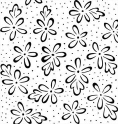 1 Yard of Black on White Printed Fabric By Blank by Patchance45, $9.79