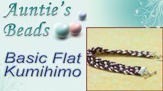 Basic Flat Kumihimo
