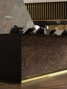 Front Desk with Giles Miller cladding