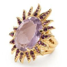tony duquette  rings for coach   Fashion Highlight: Sunbursts via Tony Duquette collection for Coach